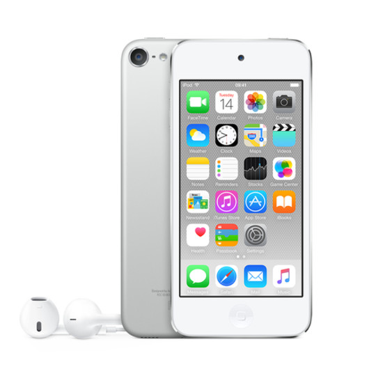 Apple 16GB Silver iPod touch (6th Gen)