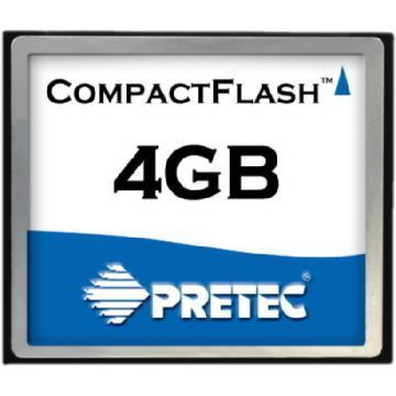 Pretec 4GB 80x Compact Flash Memory