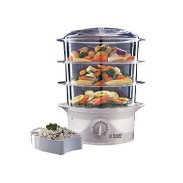 Russell Hobbs 800W 3 Tier Food Steamer
