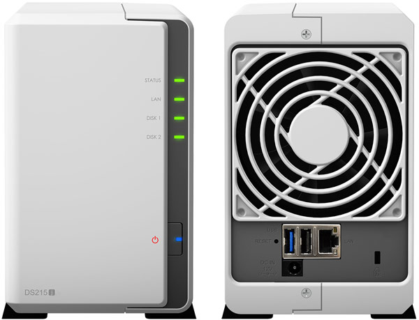 Synology DiskStation DS215J 2 Bay NAS Server