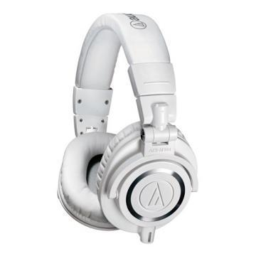 Audio-Technica M50x White Professional Studio Monitor Stereo Headphones