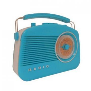Steepletone Blue Brighton Retro Radio