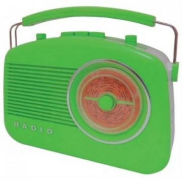 Steepletone Green Brighton Retro Radio