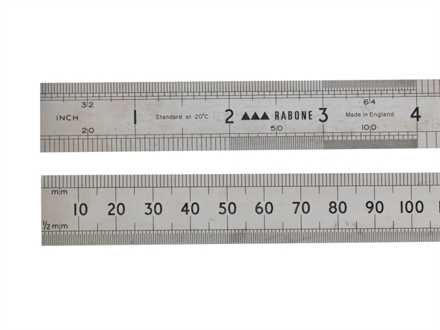 Stanley 300mm Steel Rule
