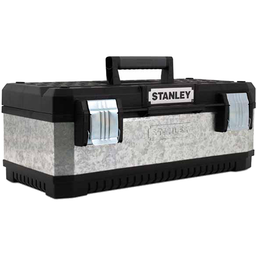 "Stanley 20"" Galvanised Toolbox"