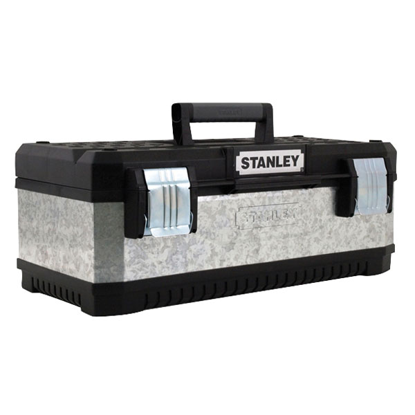 "Stanley 23"" Galvanised Toolbox"