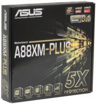 ASUS A88XM-PLUS Socket FM2+ Motherboard