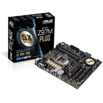 ASUS Z97M-Plus Socket 1150 Motherboard