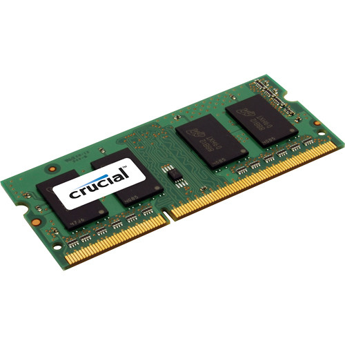 Crucial 8GB PC3-12800 (1600MHz) DDR3 SODIMM Notebook Memory