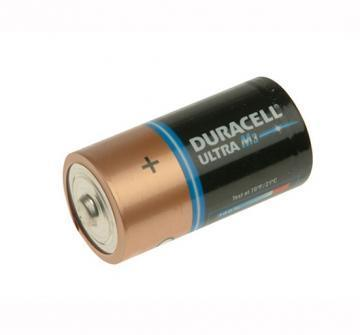 Duracell Ultra Power With Duralock, Pack of 2, Alkaline, 1.5 V, C