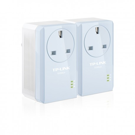 TP-Link AV500 Powerline Adaptor Kit with Passthrough