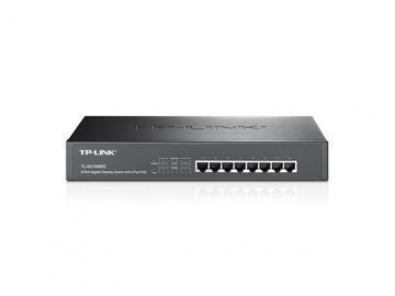 TP-Link 8-Port PoE Gigabit Desktop/Rackmount Switch