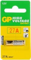 GP Alkaline, 18 mAh, 12 V, 27A Battery