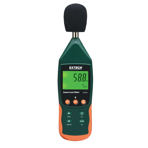 Extech Instruments SDL600 Sound Level Meter with SD