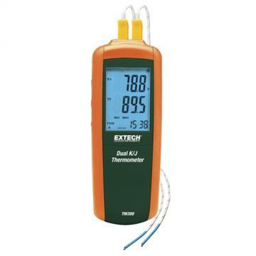 Extech Instruments TM300 2-Channel Digital Thermometer