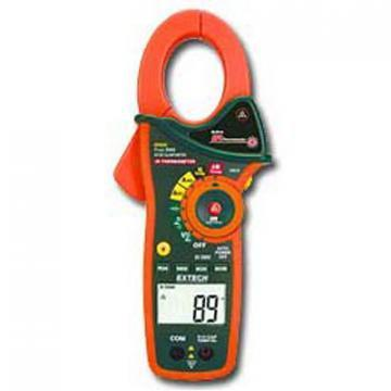 Extech Instruments EX830 Clamp Meter + IR Thermometer