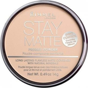 Rimmel London Matte Pressed Powder, Creamy Natural