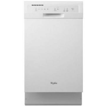 "Whirlpool WDF518SAAW 18"" Dishwasher - White"