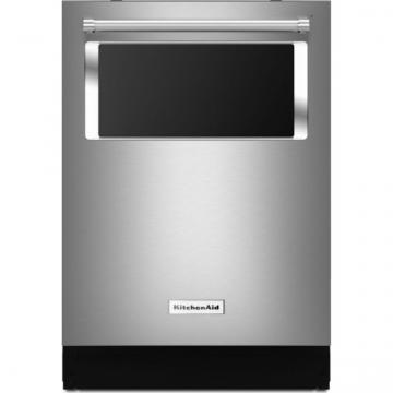 KitchenAid KDTM384ESS 44 dBA Dishwasher with Window and Lighted Interior