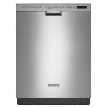 KitchenAid KDFE454CSS 24'' 6-Cycle/6-Option Dishwasher, Pocket Handle