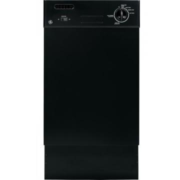 "GE GSM1800FBB 18"" Spacemaker Dishwasher Black"