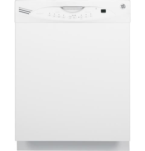 "GE GLDA690FWW 24"" Dishwasher White 4 Cycle"
