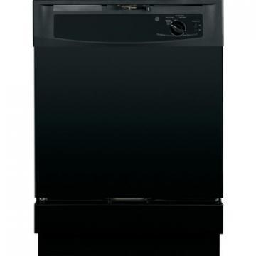 "GE GSD2100VBB 24"" Built-In Dishwasher Black 5 Cycle"