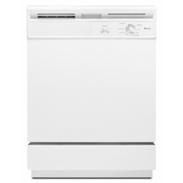 "Amana ADB1000AWW 24"" Built-In Dishwasher White 5 Cycle"