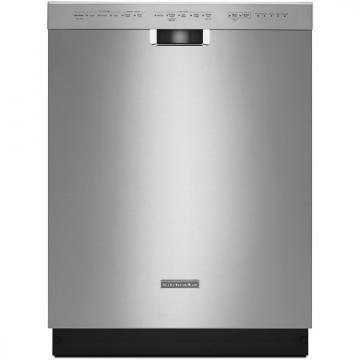 KitchenAid KDFE104DSS 24'' 6-Cycle/5-Option Dishwasher, Pocket Handle