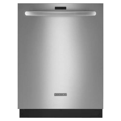 KitchenAid KDTM354DSS 43 dBA Dishwasher with Clean Water Wash System