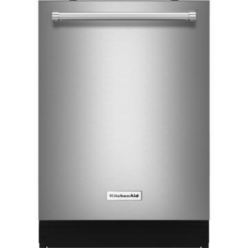 KitchenAid KDTE254ESS 39 dBA Dishwasher with ProScrub Option