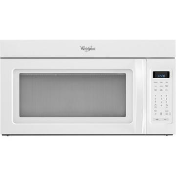 Whirlpool WMH31017AW Over-The-Range Microwave, 1.7 Cubic Feet In White