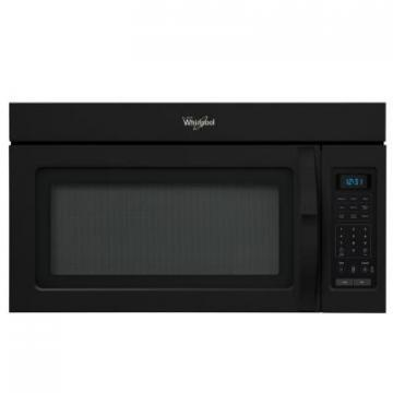 Whirlpool WMH31017AB Over-The-Range Microwave, 1.7 Cubic Feet In Black