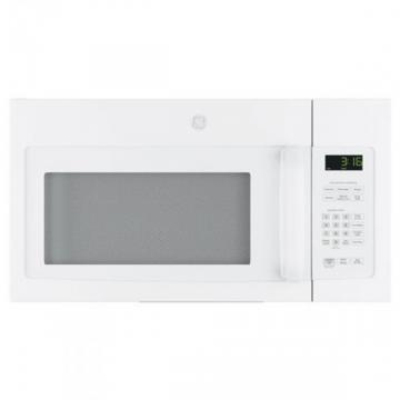 GE JNM3163DJWW Spacemaker Over-The-Range Microwave, 1.6 Cubic Feet, White