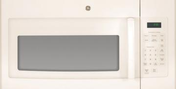 GE JNM3161DFCC Spacemaker Over-The-Range Microwave, 1.6 Cubic Feet, Bisque