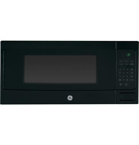 GE PEM31DFBB Profile Series 1.1 Cu Ft Countertop Microwave, Black
