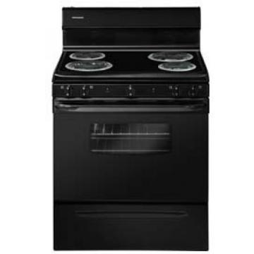 "Frigidaire FFEF3009PB 30"" Freestanding Electric Range Black"