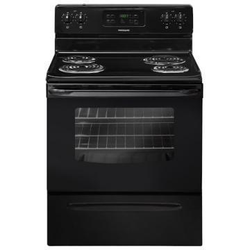 "Frigidaire FFEF3015PB 30"" Self Clean Electric Range Black"