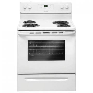 "Frigidaire FFEF3015PW 30"" Self Clean Electric Range White"
