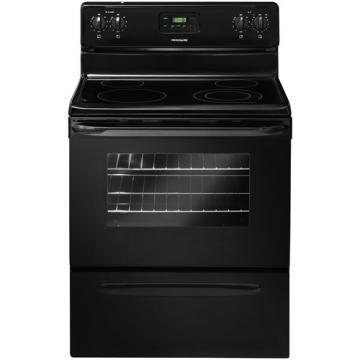 "Frigidaire FFEF3013LB 30"" Smooth Top Electric Range Black"
