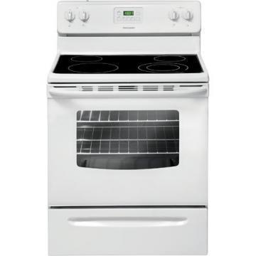"Frigidaire FFEF3013LW 30"" Smooth Top Electric Range White"