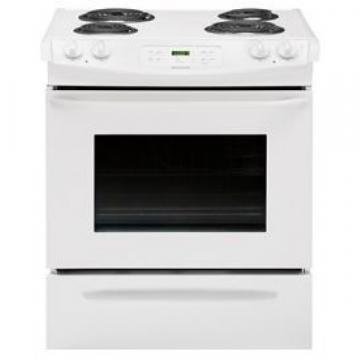 "Frigidaire FFES3015PW 30"" Electric Slide-In Range White"