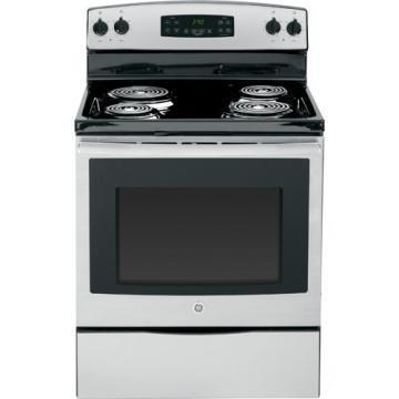 "GE JBS27RFSS 30"" Freestanding Electric Range"