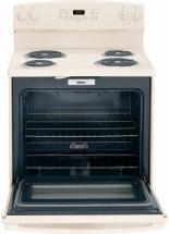 "GE JB250DFCC 30"" Freestanding Electric Range Bisque"