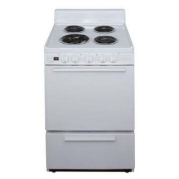 "Premier ECK100OP 24"" Electric Range White"