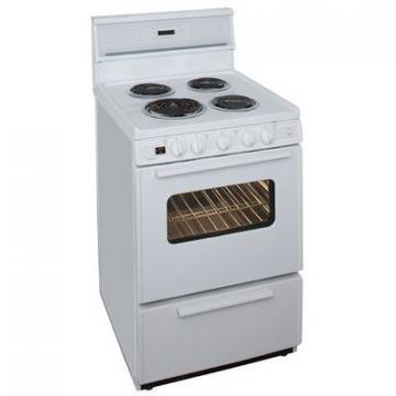 "Premier ECK240OP 24"" Electric Range White"