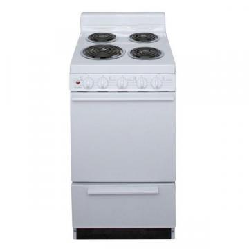 "Premier EAKLOAOP 20"" Electric Range White"