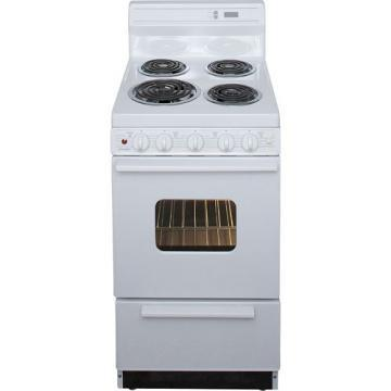 "Premier EAK220OP 20"" Electric Range White"