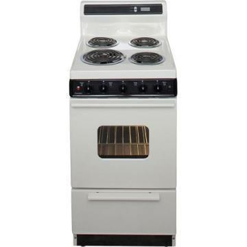 "Premier EAK220TP 20"" Electric Range Bisque"