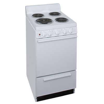 "Premier EAK100OP 20"" Electric Range White"